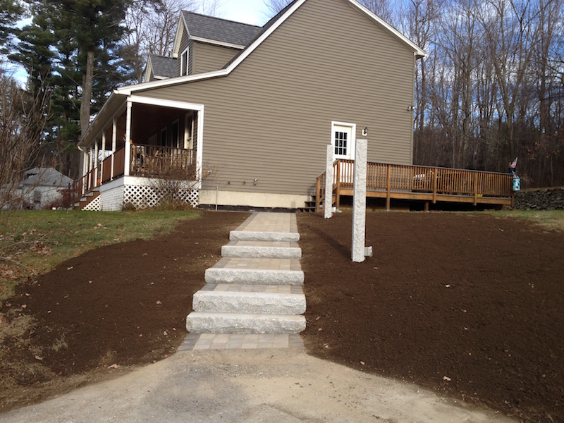 After Walkway And Steps