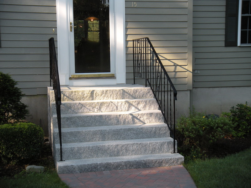 Granite Entryway