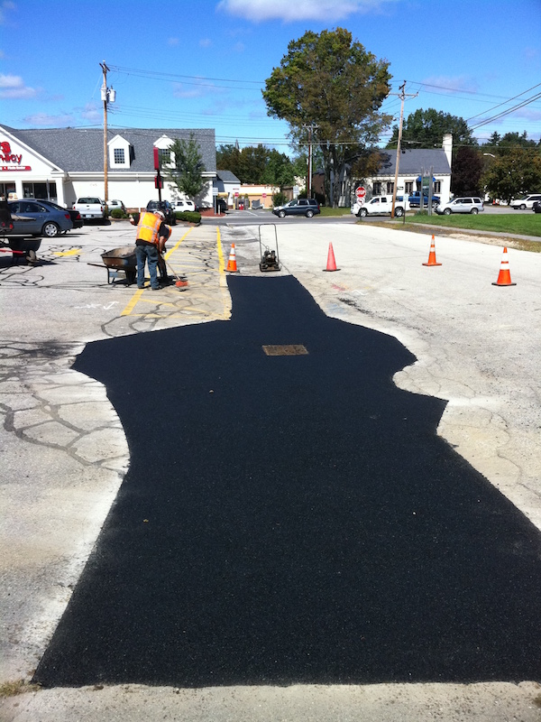 Catch Basin Repair And Asphalt